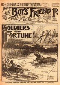 Large Thumbnail For The Boys' Friend 0495 - Soldiers of Fortune