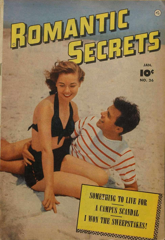 Comic Book Cover For Romantic Secrets #26