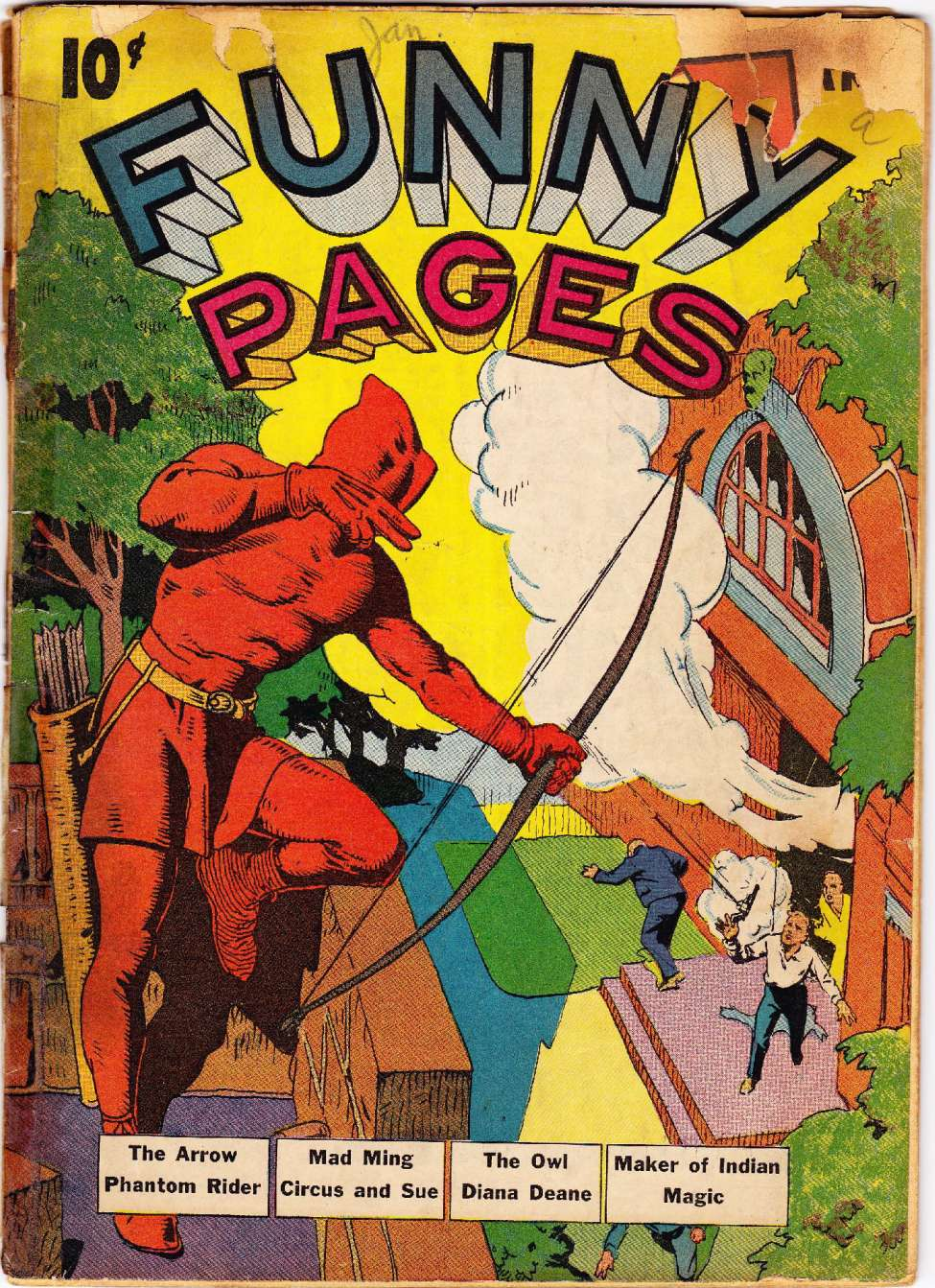 Comic Book Cover For Funny Pages v4 #1
