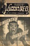 Cover For L'Agent IXE 13 v2 172 L'Invention diabolique