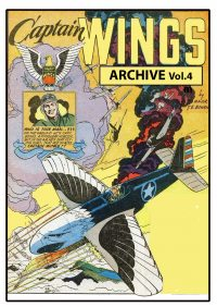 Large Thumbnail For Captain Wings Archive Vol.4 (Fiction House)