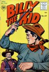 Cover For Billy the Kid Adventure Magazine 29