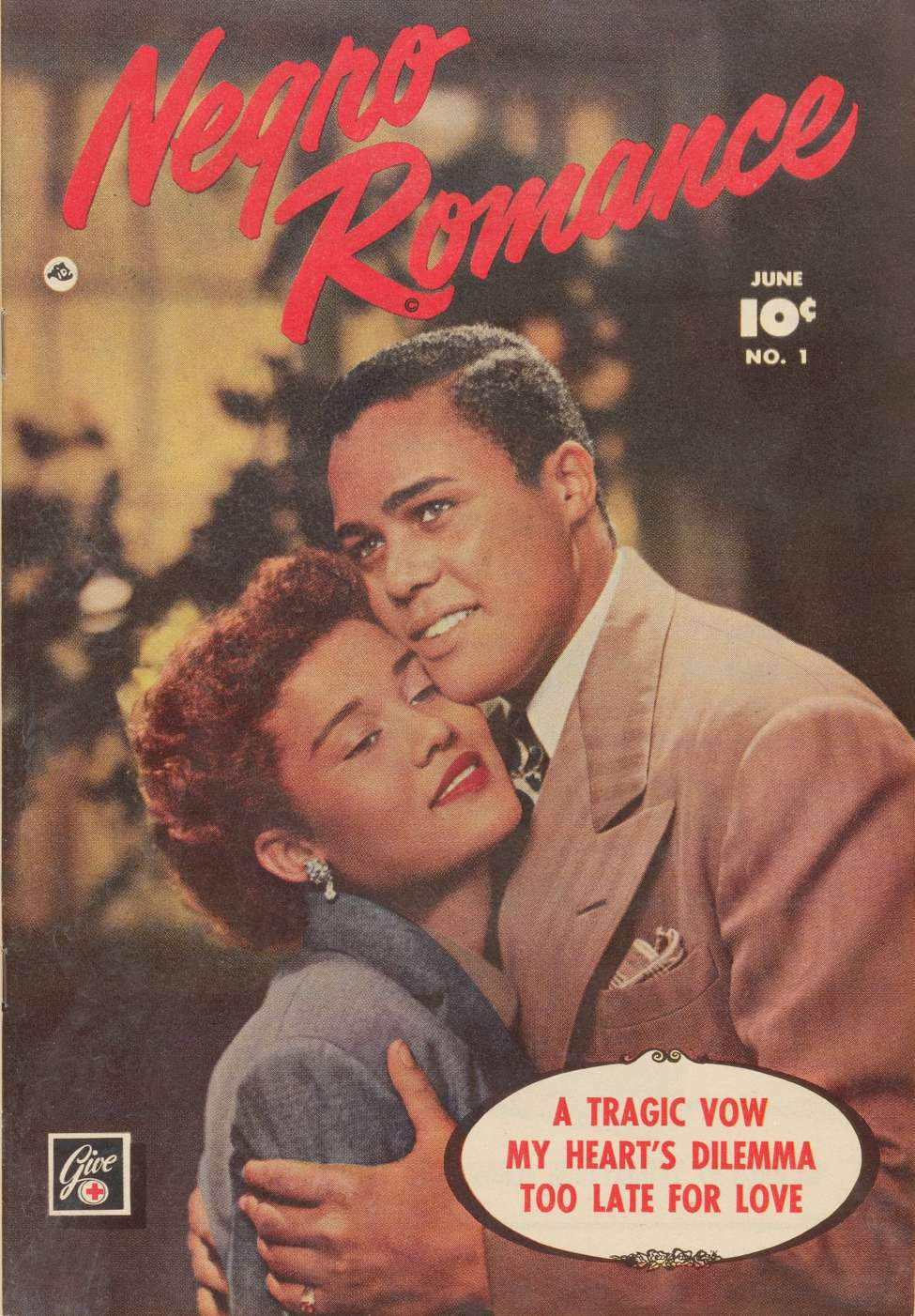 Comic Book Cover For Negro Romance #1