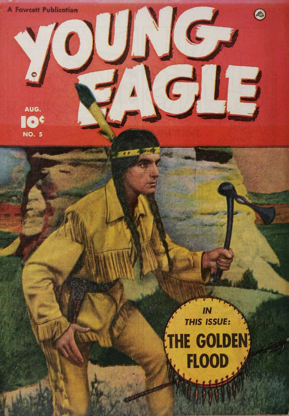 Comic Book Cover For Young Eagle #5