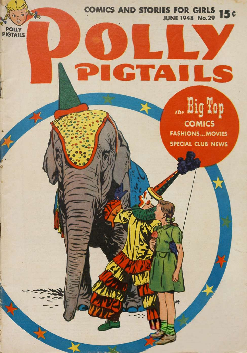 Comic Book Cover For Polly Pigtails #29