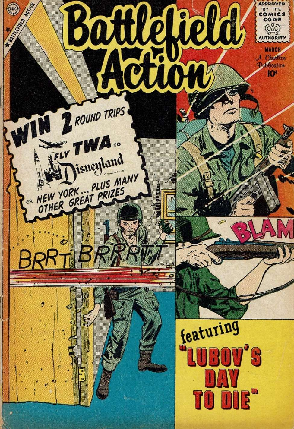 Comic Book Cover For Battlefield Action #29