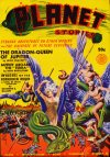 Cover For Planet Stories v1 7 The Dragon Queen of Jupiter Leigh Brackett