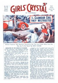 Large Thumbnail For Girls' Crystal 0572 - The Glamour Girl They Mistrusted