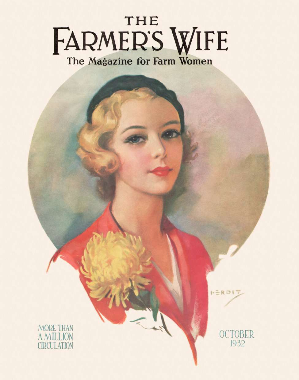 Comic Book Cover For The Farmers Wife v35 10