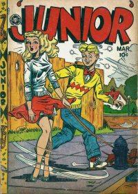 Large Thumbnail For Junior [Junior Comics] #12