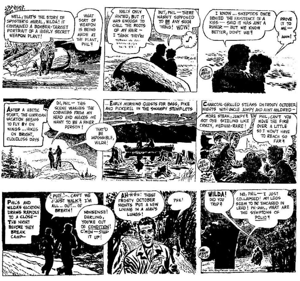 Secret Agent X 9 1951 10 18 1952 02 23 Comic Book Plus