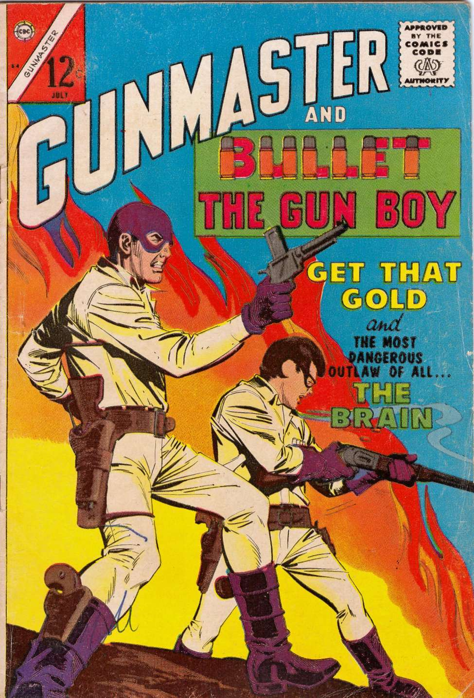 Comic Book Cover For Gunmaster #84