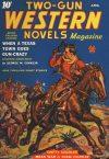 Cover For Two Gun Western Novels Magazine v3 2
