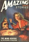 Cover For Amazing Stories v21 1 The Mind Rovers Richard S. Shaver