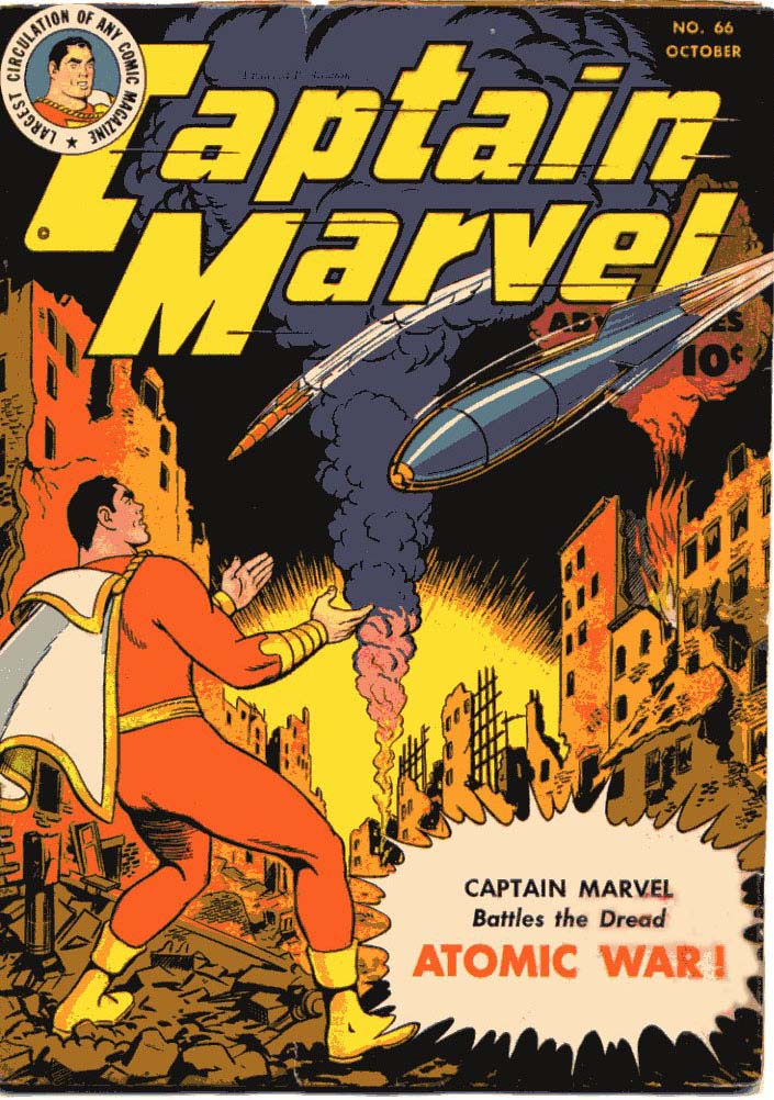 Comic Book Cover For Captain Marvel Adventures #66