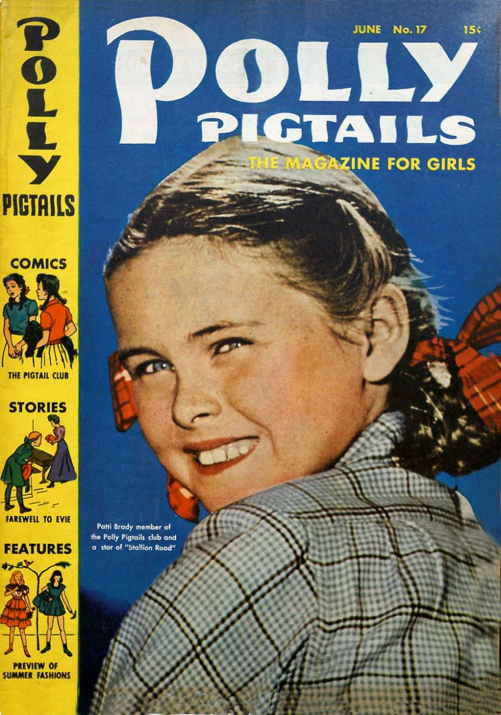 Comic Book Cover For Polly Pigtails #17