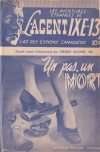Cover For L'Agent IXE 13 v2 95 Un pas, un mort