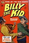 Cover For Billy the Kid Adventure Magazine 9