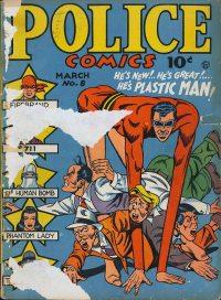 Large Thumbnail For Police Comics #8