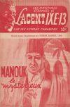 Cover For L'Agent IXE 13 v2 104 Manouk le mystérieux