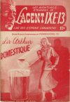 Cover For L'Agent IXE 13 v2 72 Sir Arthur domestique