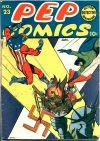 Cover For Pep Comics 23
