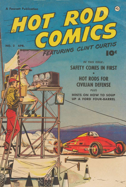 Comic Book Cover For Hot Rod Comics #2