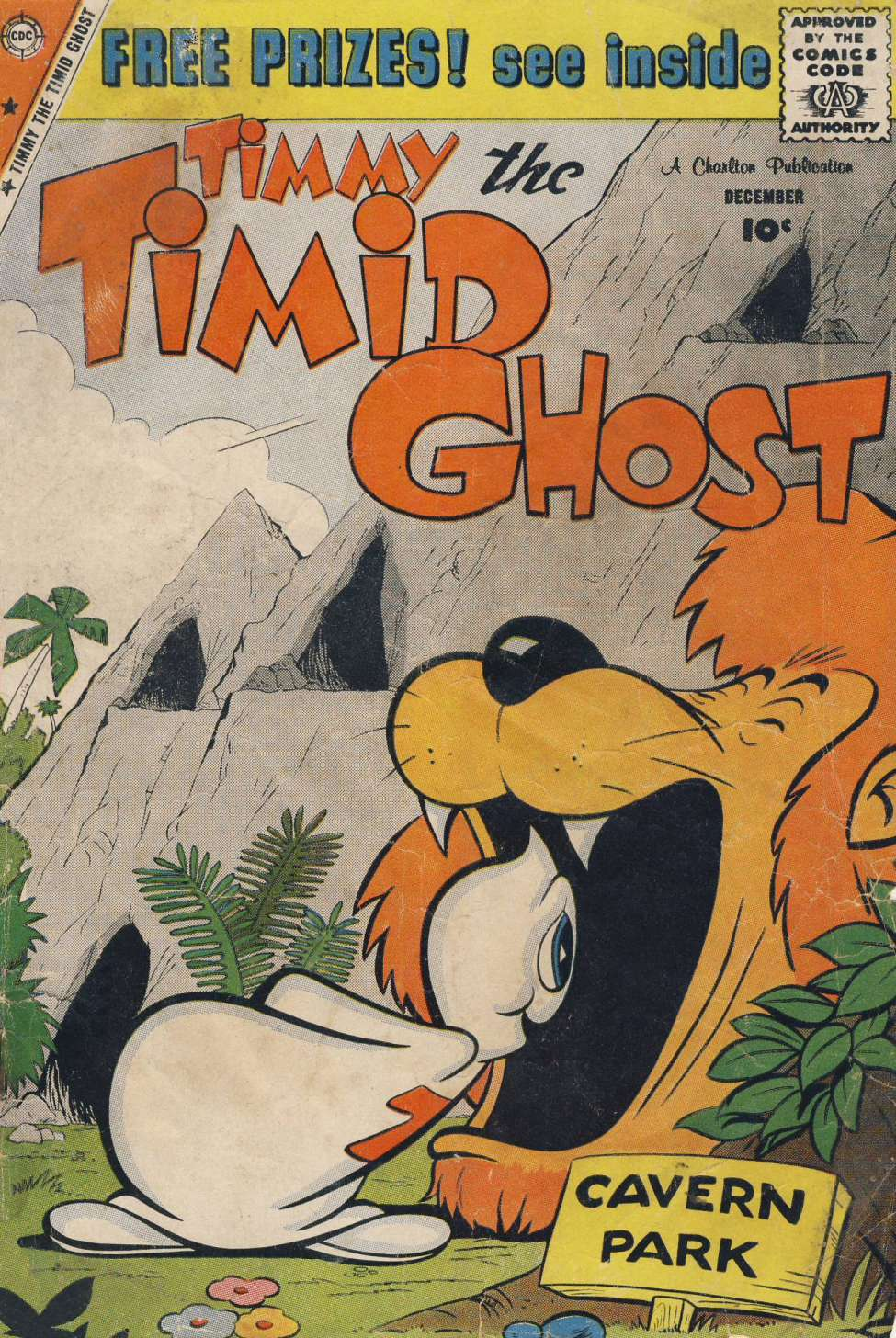 Comic Book Cover For Timmy the Timid Ghost #18