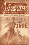Cover For L'Agent IXE 13 v2 173 Au secours de Jane