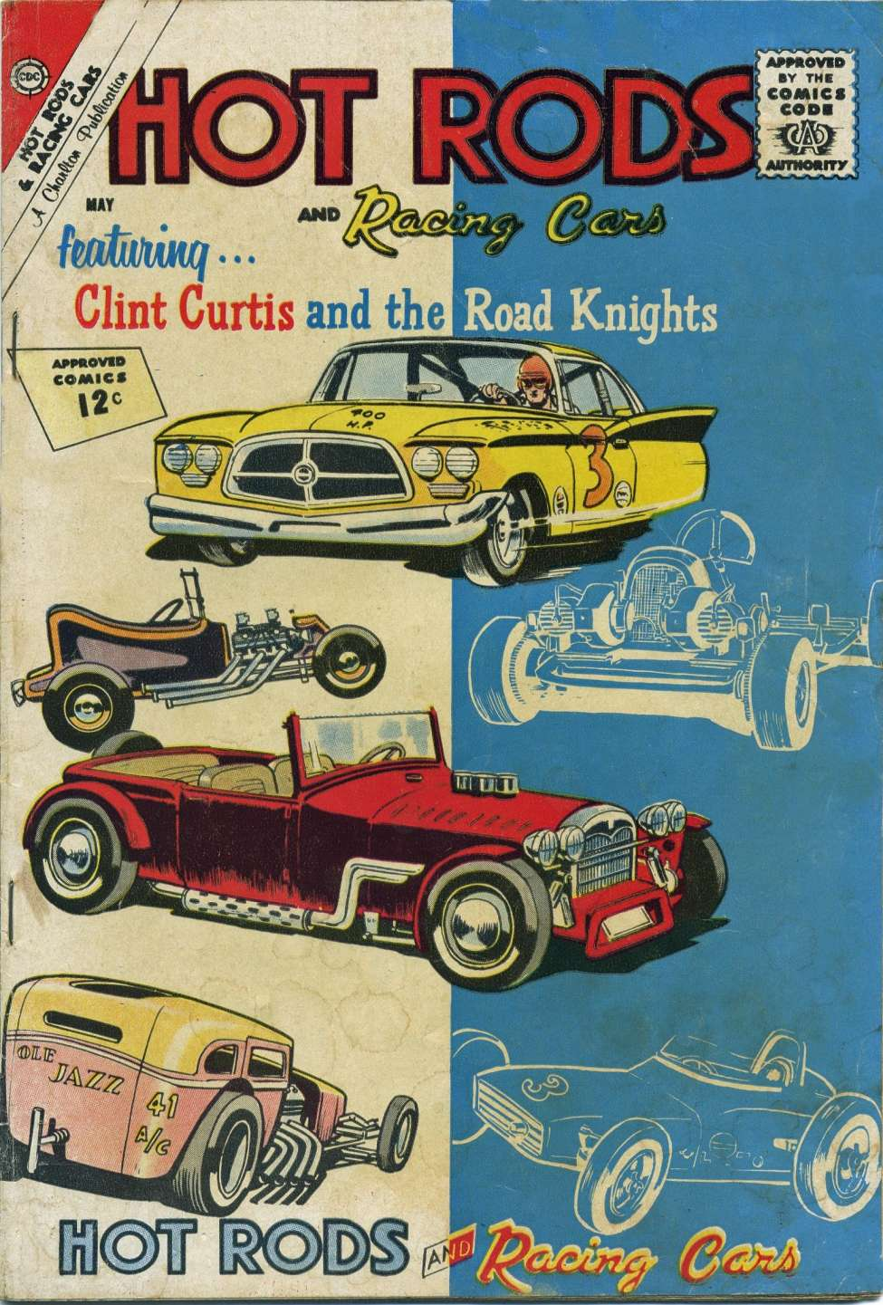 Comic Book Cover For Hot Rods and Racing Cars #57