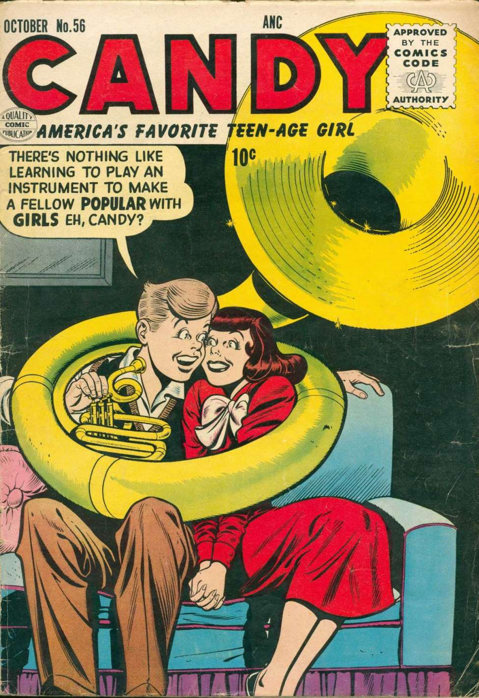 Comic Book Cover For Candy #56
