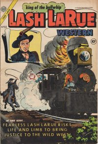 Large Thumbnail For Lash Larue Western #53