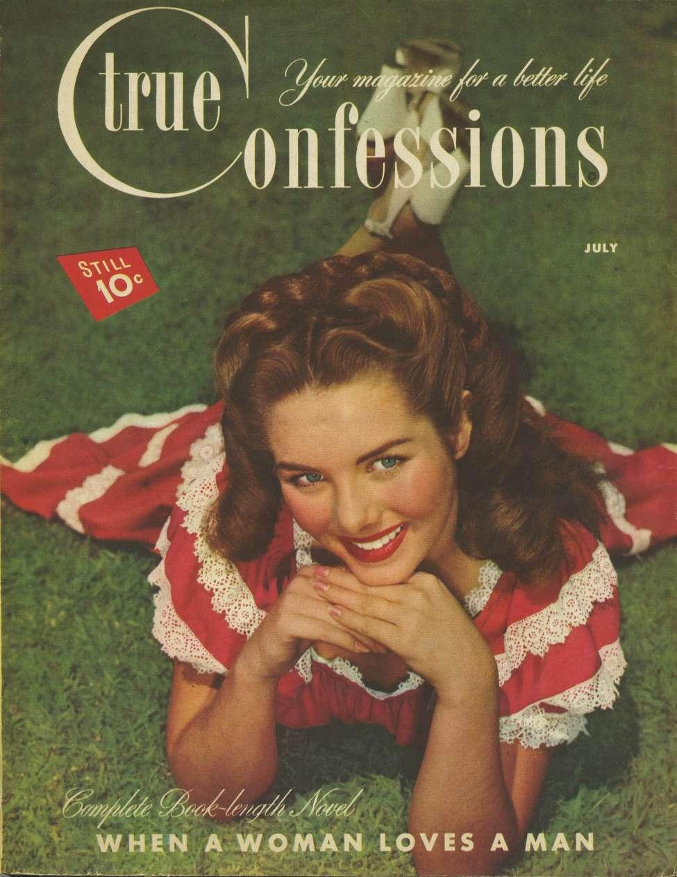 Comic Book Cover For True Confessions v46 288