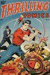 Cover For Thrilling Comics 57