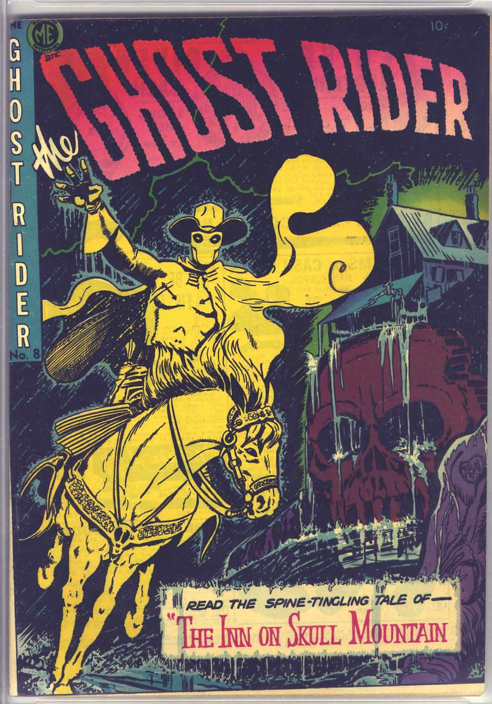 Comic Book Cover For The Ghost Rider 8 [A-1 #57]