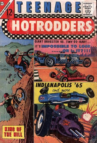 Comic Book Cover For Teenage Hotrodders #13