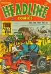 Cover For Headline Comics 63