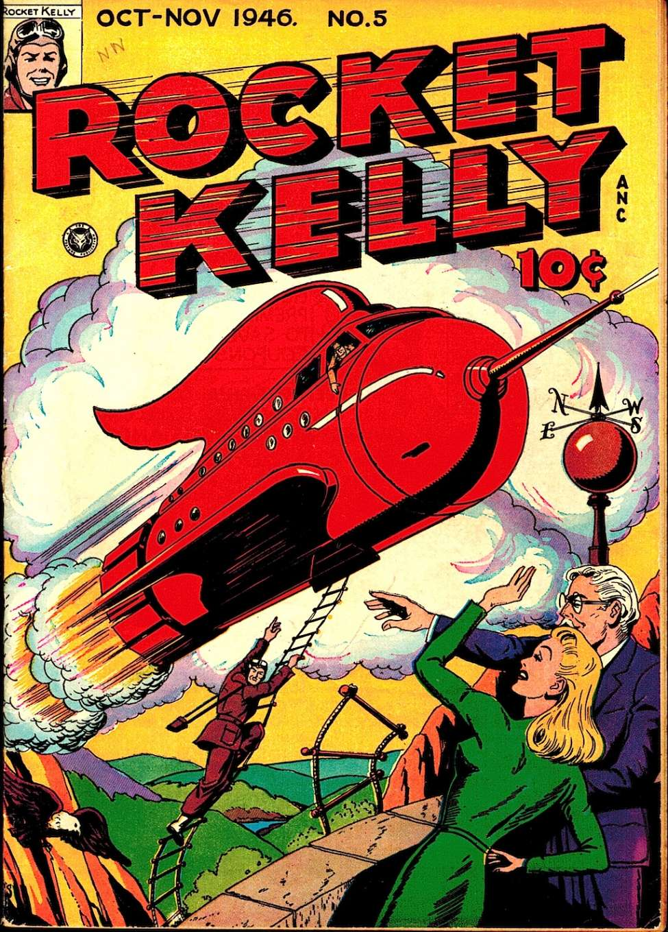 Comic Book Cover For Rocket Kelly #5