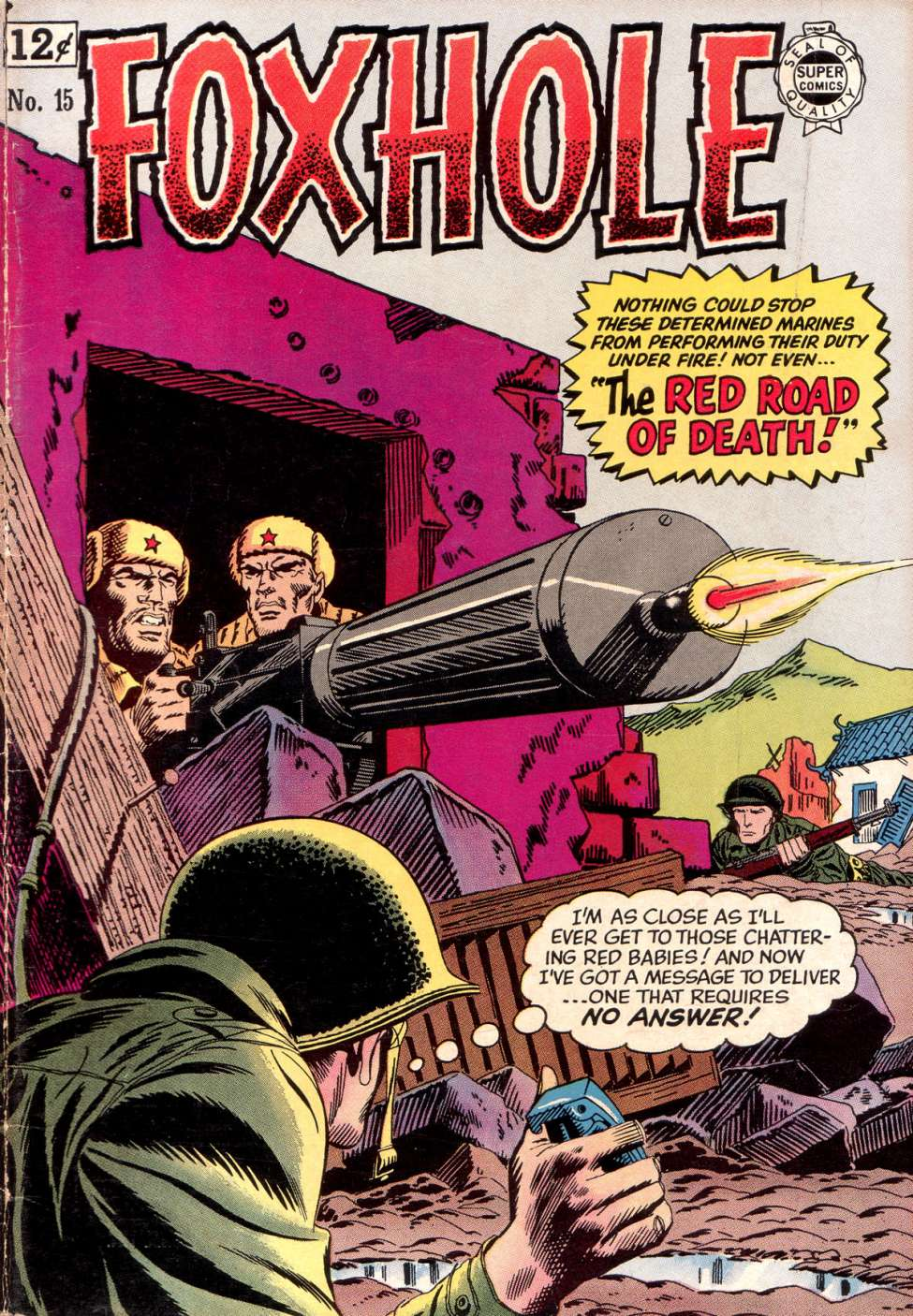 Comic Book Cover For Foxhole 15
