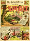 Cover For The Spirit (1940 7 7) Detroit News