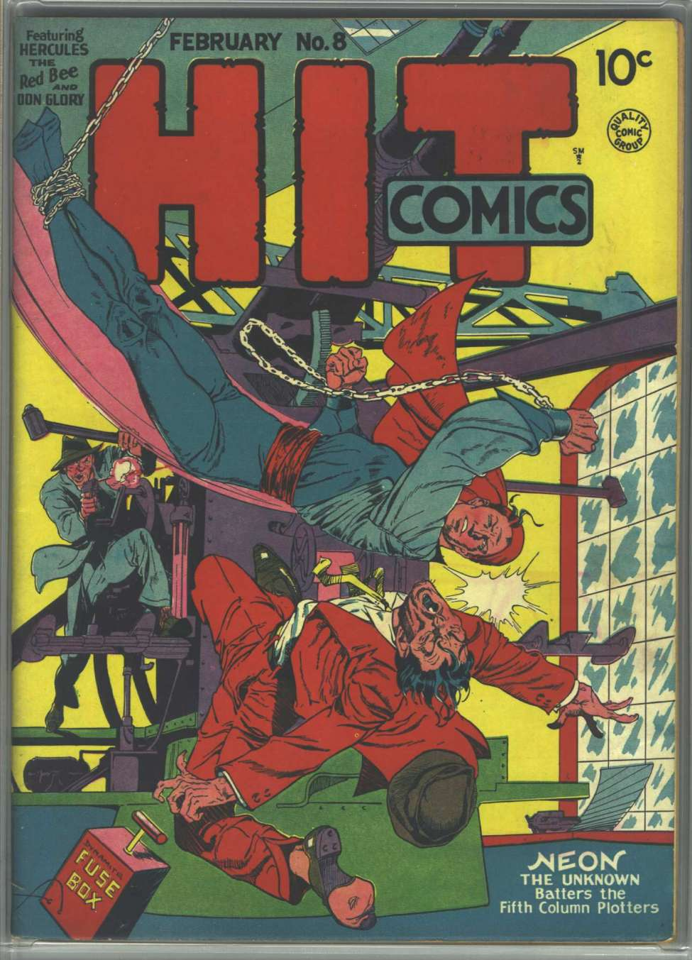Comic Book Cover For Hit Comics #8