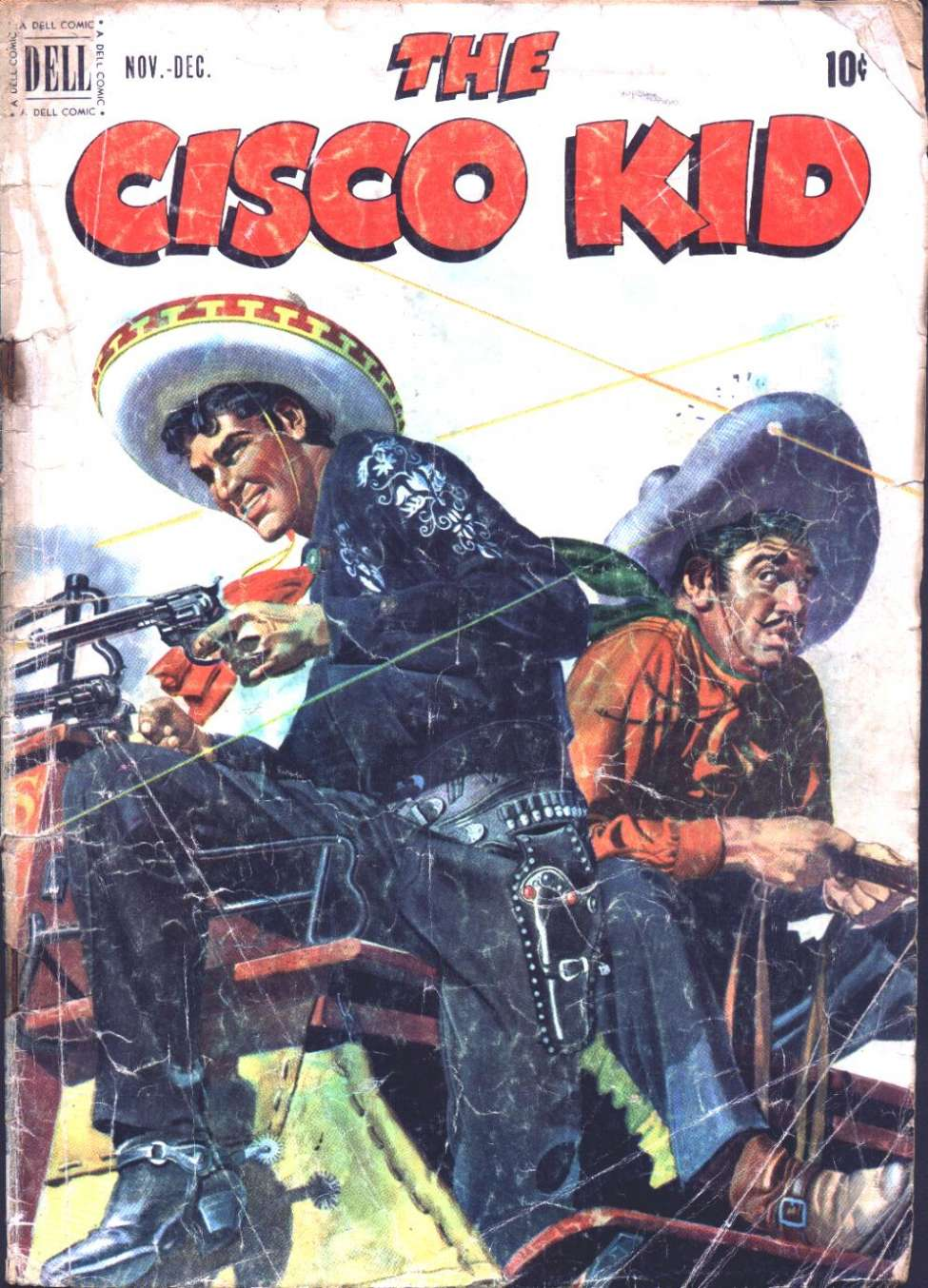 Comic Book Cover For The Cisco Kid 6