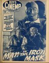 Cover For Boy's Cinema 1040 The Man in the Iron Mask Louis Hayward