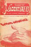 Cover For L'Agent IXE 13 v2 149 Boiron assassiné
