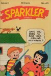 Cover For Sparkler Comics 40