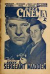 Cover For Boy's Cinema 1025 Sergeant Madden Wallace Beery
