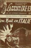 Cover For L'Agent IXE 13 v1 8 Une nuit en Italie