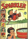 Cover For Sparkler Comics 17