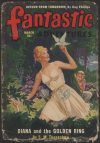 Cover For Fantastic Adventures v12 3 Diana and the Golden Ring S. M. Tenneshaw