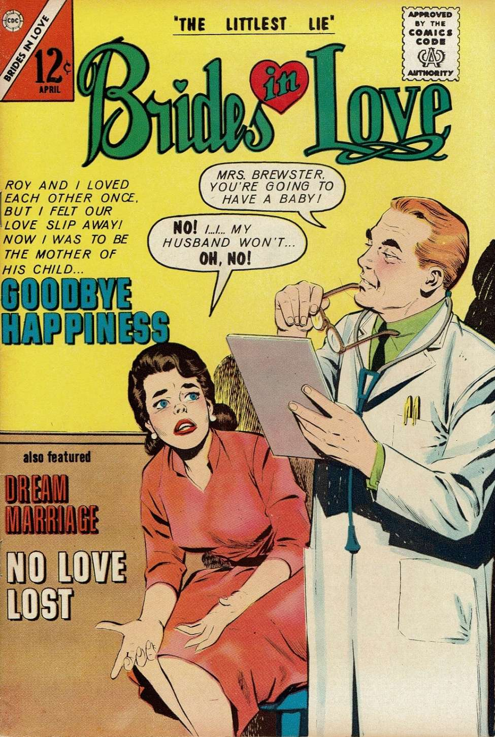 Comic Book Cover For Brides in Love #35